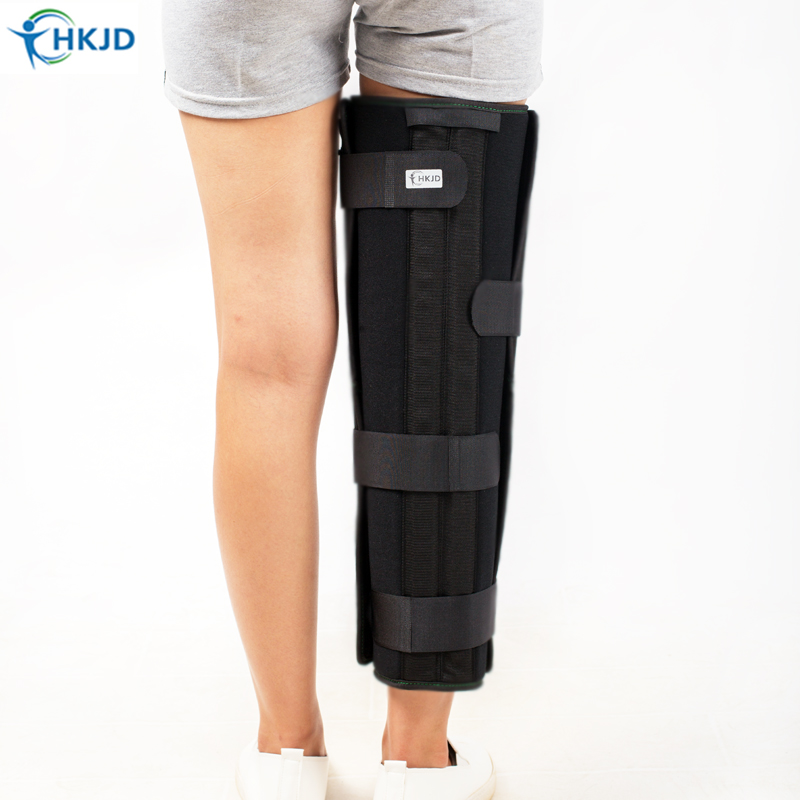 Medical knee brace knee support for serious ligament strain after operation Patella Guard Posture Corrector Knee Pads Protector 1 piece leg elastic sports knee brace wrap protector cap patella knee guard rubber pressurization knee sleeve pads q7 brand new