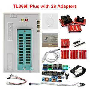XGECU Adapters Programmer TL866 PIC Universal USB High-Speed Test-Clip Bios V9.16 28