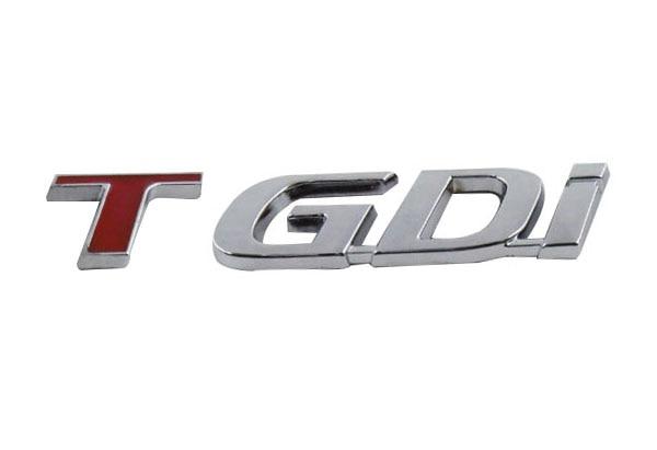Auto car Red Chrome TGDi for New Sportage 2.0 Turbo K2 K3 K5 Emblem Badge Sticker auto car chrome turbodiesel turbo diesel emblem badge sticker