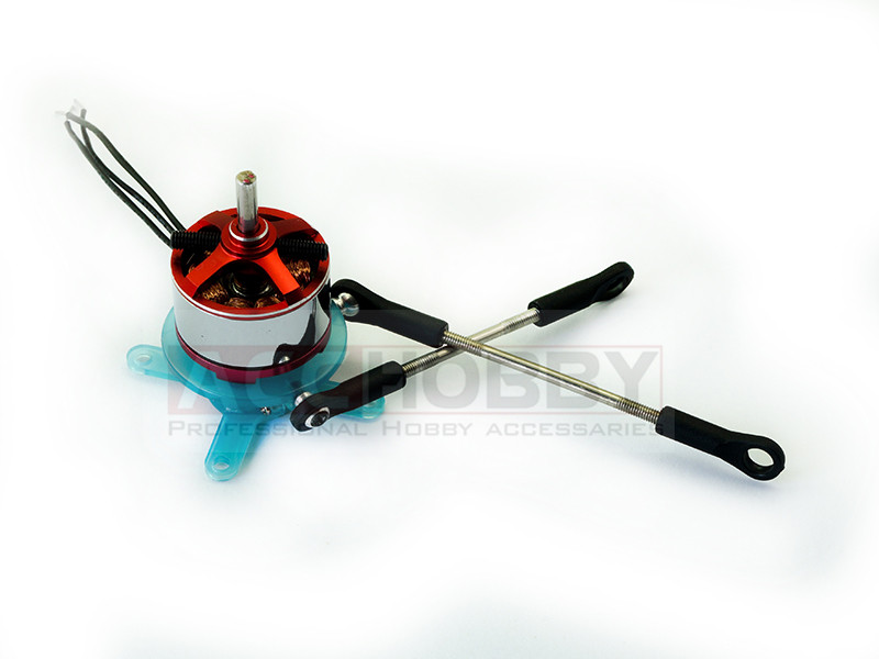 Free Shipping Two-axle Vector Power Mounting Base for 3D aerobatic plane, Delta Wing and Power Kite