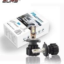 EURS светодиодный H4 P9 H7 светодиодный автомобильный головной светильник высокой яркости Hi/Lo луч светильник s 100 Вт 13600LM автомобильные лампы противотуманный светильник Стайлинг автомобиля