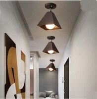 Nordic Креативный светодиодный небольшой потолочный светильник проходу гардеробе современной простой Гостиная Творческий Кафе прожекторы ...