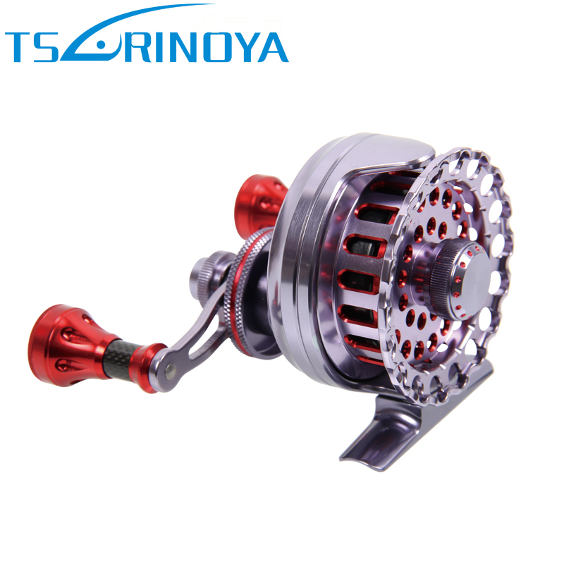 Tsurinoya 8BB Ball Bearing Full Metal Former Rafting Fish Reel Left/Right Lure Fishing Reels 12 1 bb ball bearing left right fishing spinning reels sea fish line reel