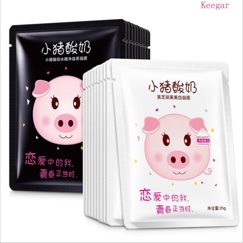 BEOTUA Piggy yoghurt cleansing black face mask hydrating Anti-Aging cleansing pore Moisturizing Whitening korean skin care
