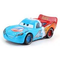 Coches de Disney Pixar coches 3 Rayo McQueen Mater Jackson tormenta Ramírez 1:55 fundición de aleación de Metal modelo de coche de juguete para niños Cars2