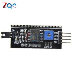 2 STÜCKE IIC I2C TWI SPI Seriellen Schnittstellenplatine Port Modul für Arduino 1604 2004 LCD1602 Adapterplatte LCD Adapter Konverter modul
