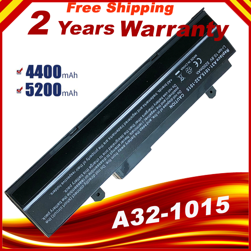Laptop battery For Asus Eee PC EEE 1215 PC 1215b 1215N 1015b <font><b>1015</b></font> 1015bx 1015px 1015p A31-015 <font><b>A32</b></font>-<font><b>1015</b></font> AL31-<font><b>1015</b></font> image