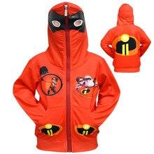 Incredibles 2 jacket coat spring autumn children jacket print baby boy Ninjago clothes Girls Fornite tops outwear kids clothes стоимость