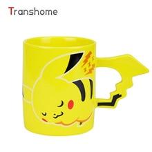 Kreative Pokemon Pikachu Keramikkaffeetasse Niedlichen Cartoon Reise Tee Wasserflasche Tasse Für Erwachsene Kinder Geschenke Espressotassen