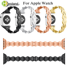 Alloy Steel Bracelet for apple watch 5 band i series 1/2/3 /4/5 40mm 44mm 42mm 38mm strap smart accessories new
