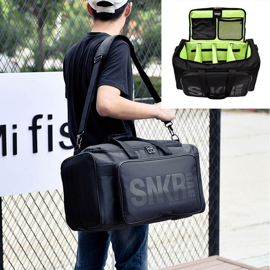 Grand sac de Sport à compartiments multiples sacs de Sport pour hommes sac de Sport imperméable à l'eau sac de voyage pour vacances sac à bandoulière 55L