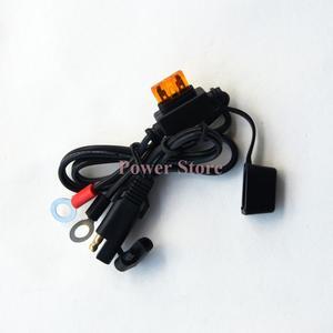 Image 4 - 12v carregador de bateria inteligente pulso de carregamento reparação carro da motocicleta com sae conector cabos