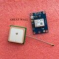 10 шт./лот GY-NEO6MV2 новый модуль GPS NEO6MV2 с Управления Полетом EEPROM MWC APM2.5 большой антенны