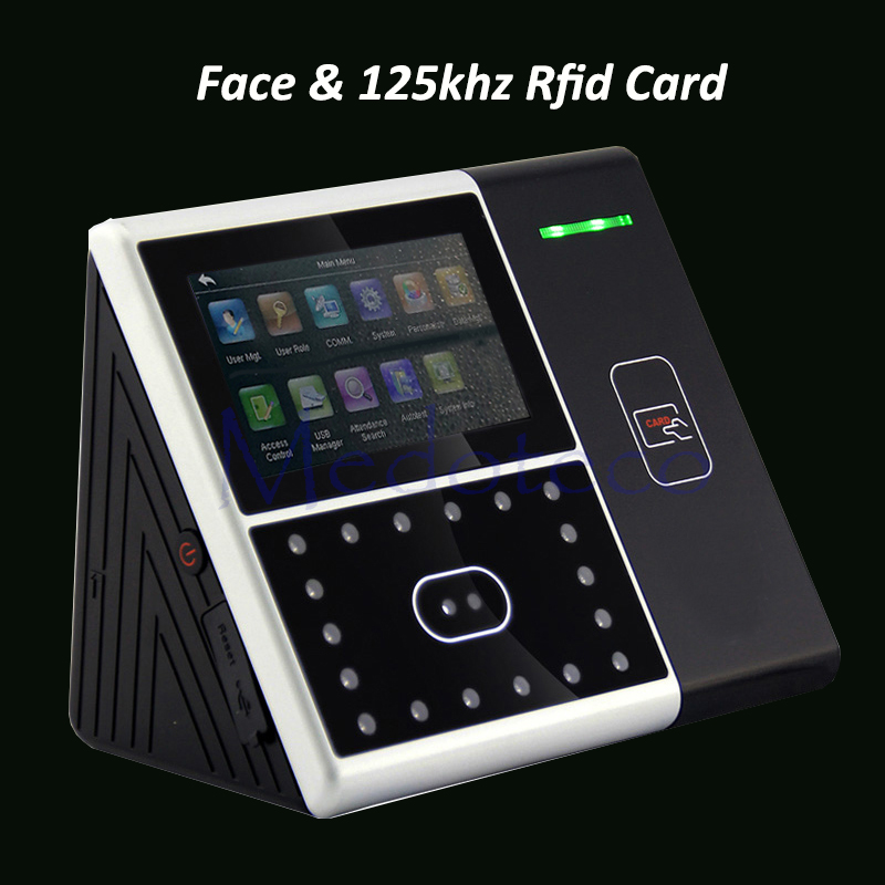 Biometric Face Employee Time Attendance Iface301 Face Recognition System Face Employee Time Clock With 125khz Rfid Reader