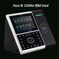 Biometrische Gesicht Mitarbeiter Zeiterfassung Iface301 Gesichtserkennung System Gesicht Mitarbeiter Uhr mit 125 khz Rfid lesegerät-in Elektrische Teilnahme aus Sicherheit und Schutz bei