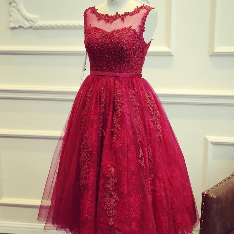 Compra Vestidos De Noche De Color Vino Online Al Por Mayor De China Mayoristas De Vestidos De