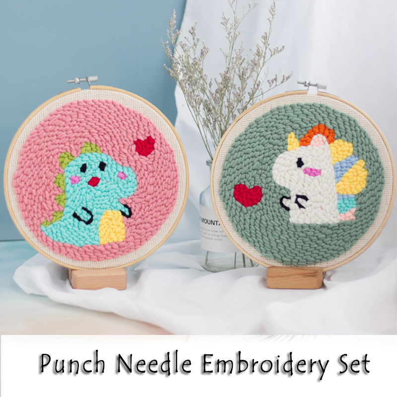 Punch Needle Pen Punch Embrodiery Starter Kits for Beginners Landscape