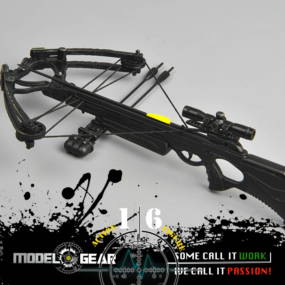 1/6 Scale ZYTOYS ZY TOYS ZY15-24 Crossbow Set Suitable for 12'' Action Figure Model Toy Not Actual Weapon