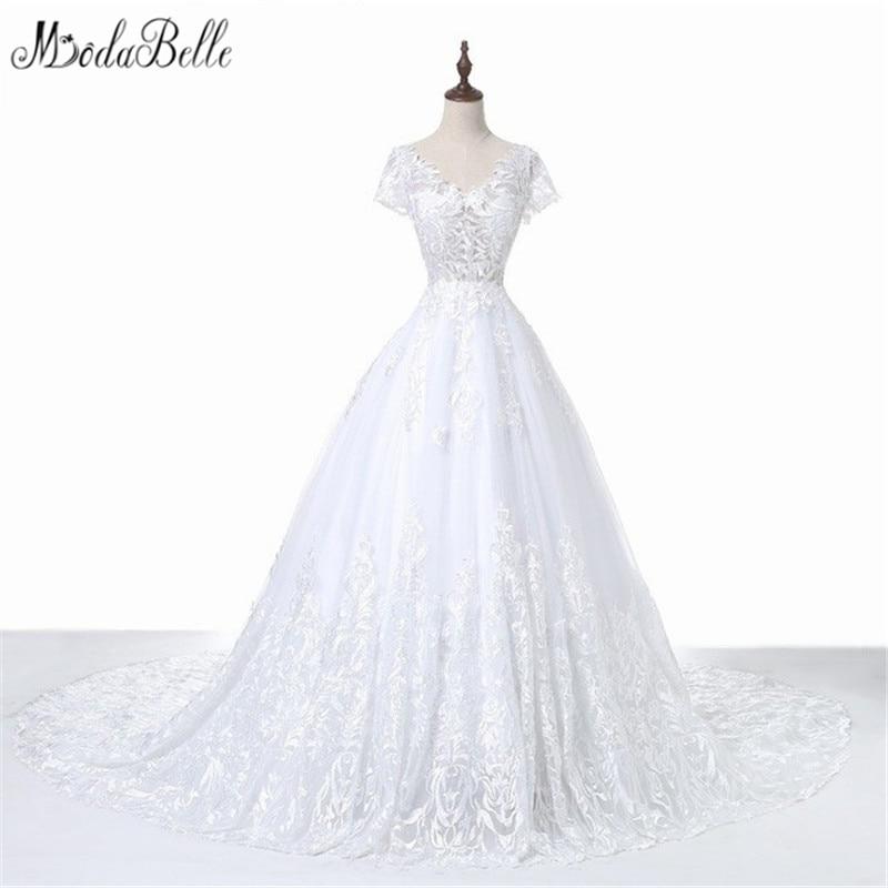 Modabelle 2017 Simple Wedding Dresses For Beach Wedding Princess ...