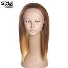 Styleicon Lace Front Human Hair Wigs Brazilian Remy Hair Wigs For Women Cosplay Blonde Wig 16 Colors Choice Free Shipping