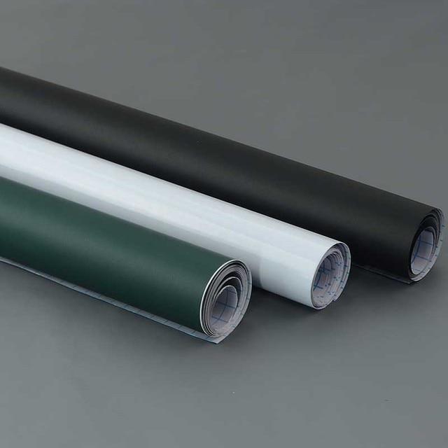 € 6.26 24% de réduction|2017 DIY Chalk Conseil Noir Blanc Vert Tableau Noir  PVC Sticker Mural Pour Enfants de Dessiner Étude Décor Art Papier Peint ...