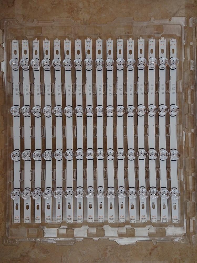 100%New Full Backlight LED strips for LC420DUE LG TV LG42LB580V INNOTEK DRT 3.0 42-A/B Type 6916L 1709B 1710B 1957E 1956A