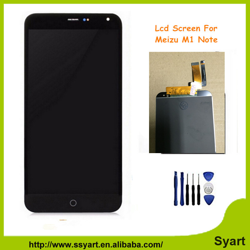 Meizu M1 Note LCD Screen 100 Original LCD Display Touch Screen Replacement Screen For Meizu M1