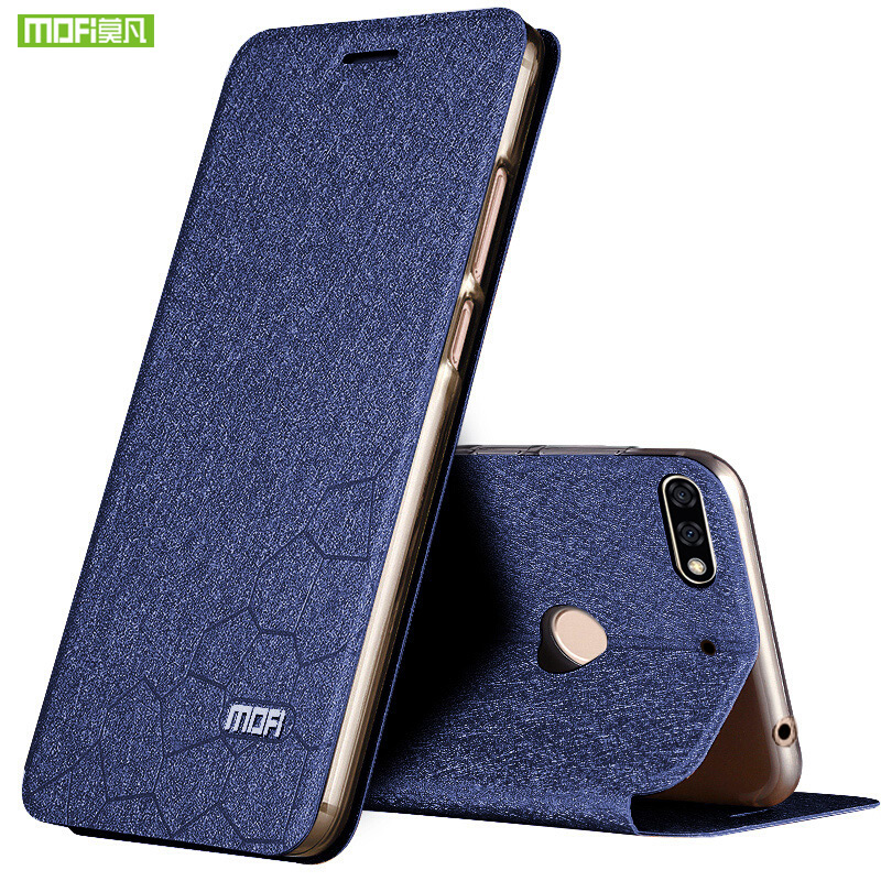 Mofi For Huawei Y6 2018 case flip leather For huawei y6 2018 case silicone for huawei Y6 Prime 2018 case luxury Y 6 Prime case