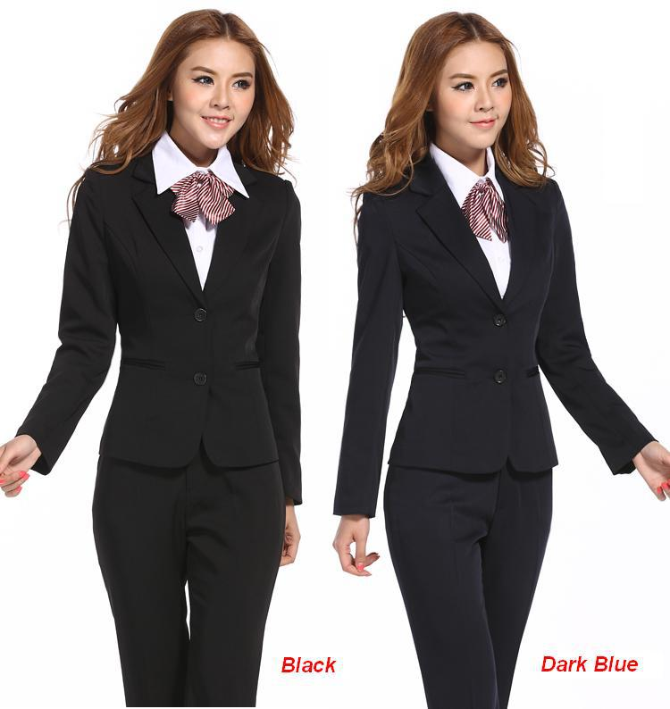 trouser suits Picture - More Detailed Picture about Formal women's ...