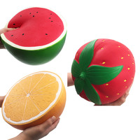 Jumbo Super Giant Soft Watermelon Orange Strawberry Peach Slow Rising Squeeze 3.19
