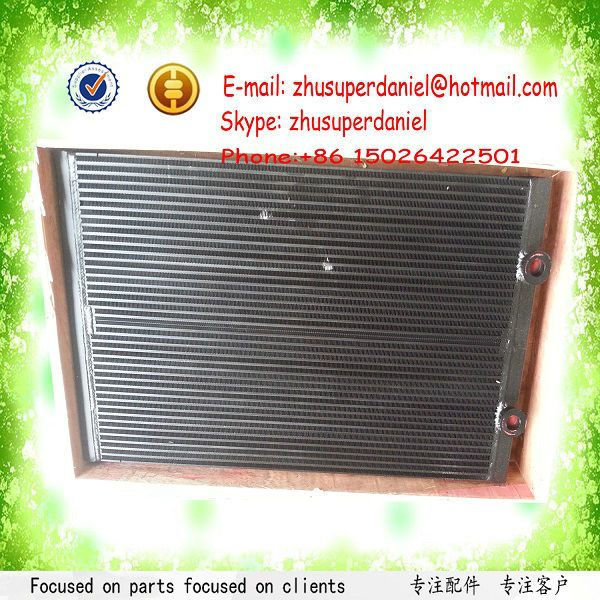 WJIER Sullair Heat Exchanger Oil Cooler Radiator 02250185-021 for Screw Air Compressor Parts high quality water cooled heat exchanger black 22091904 for screw air compressor spare parts