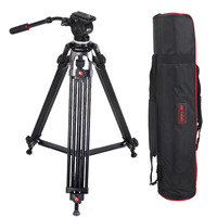 JIEYANG JY0508 JY 0508 5KG Professional Tripod camera tripod/Video Tripod/Dslr VIDEO Tripod Fluid Head Damping for video