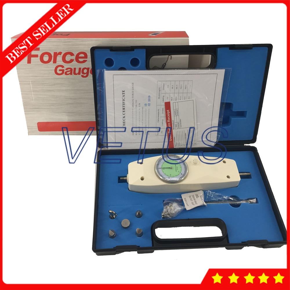 NK-500 Mechanical Analog Push Pull Gauge Force Gauge
