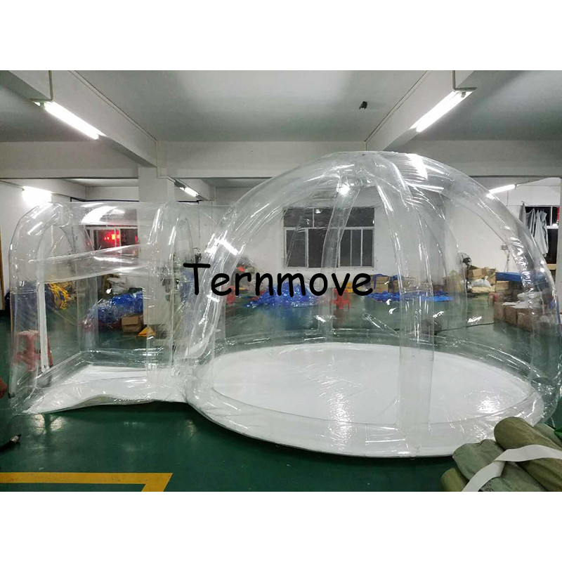 inflatable bubble tent,Outdoor Single Tunnel Inflatable dome Tent Camping Family (inflatable support),inflatable bubble room