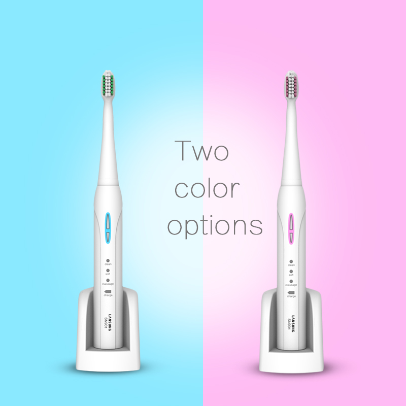 Image 5 - LANSUNG Sonic Electric Toothbrush Ultrasonic toothbrush oral hygiene sonic toothbrushes electric tooth brush SN901 dental care 5-in Electric Toothbrushes from Home Appliances