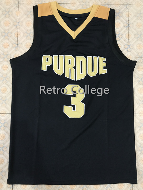 19ef01f31 #3 Carsen Edwards Purdue College Throwback Basketball Jersey Stitched  Embroidery Any Number And Name