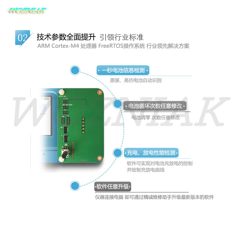 Wozniak Pro1000S logica baseband NAND CHIP programmatore Tester per - Set di attrezzi - Fotografia 4