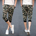 Mens Cropped Camouflage Drawstring Beach Trousers Shorts homme short Pants Casual Wear shorts Y3