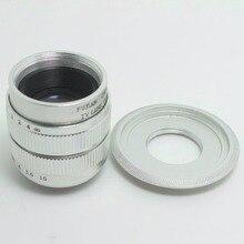Fujian 35mm F1.7 CCTV TV lens + C Monte Anel para Panasonic GF9 GF8 GF7 GX7 GF6 GF5 GF3 GH2 G3 G5 G7 GH4 GX8H GX8 G7H G7K