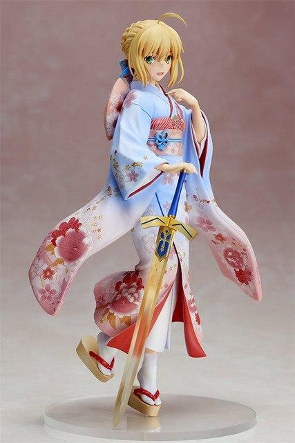 Аниме фигурка Сайбер в кимоно 25 см ПВХ 2