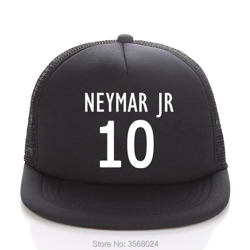 Confident Neymar Jr Caps Football Fans Trucker Cap Custom Soccer Name Adult/child Baseball Hats Diy 10 Neymar Cap Fans Sun Snapbacks Good Reputation Over The World Apparel Accessories Men's Hats