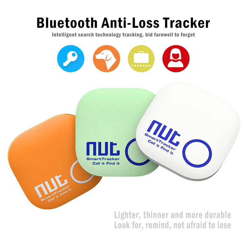Anti Hilang Alarm Smart: Nirkabel Bluetooth GPS Tracker Anak Tas Dompet Kunci Finder BLT Locator Anti Hilang Bluetooth kunci Finder