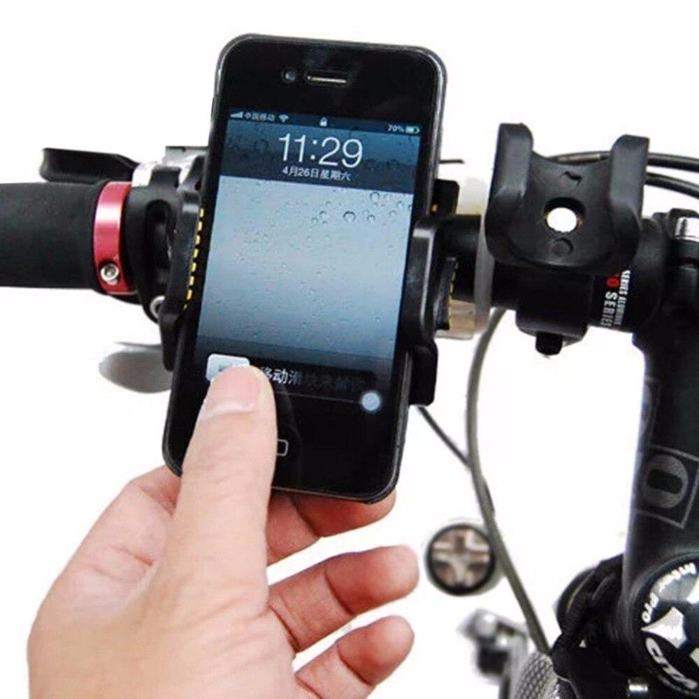 Bicicleta de la bici de montaje del sostenedor del soporte del teléfono celular