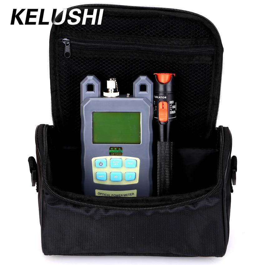 KELUSHI 2 1 FTTH 섬유 도구 키트 섬유 광 파워 미터 + 10 - 통신 장비 - 사진 1