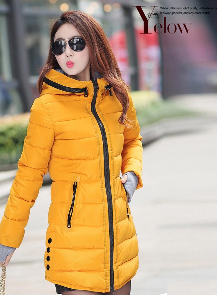 HTB1jWMkX.3IL1JjSZFMq6yjrFXa0 2019 women winter hooded warm coat slim plus size candy color cotton padded basic jacket female medium-long  jaqueta feminina