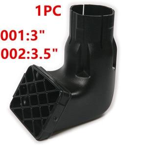 "1pc Waterproof 3""/3.5"" Black Car Snorkel Air Intake Ram Fit Off Road Replacement Mudding Snorkel Head Air Ram Intake for Car SUV"