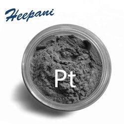 Gratis verzending 99.95% zuiverheid zeldzame metalen Platina poeder Pt poeder