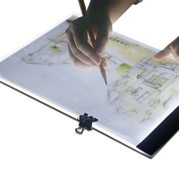 LED Light Box Artist Thin Tracing Drawing Tracing Board Copy Pads Digital Drawing Tablet Artcraft A4