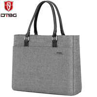 2018 Women Laptop Shoulder Bag Solid Notebook Computer Tote Bag Nylon Fashion Briefcase Handbag Casual Travel Bags for Womens