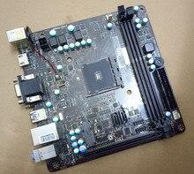 Подержанные Оригинальная для MSI AM1I АМ1 Интерфейс DDR3 Mini-itx 17*17 поддержка NAS материнская плата